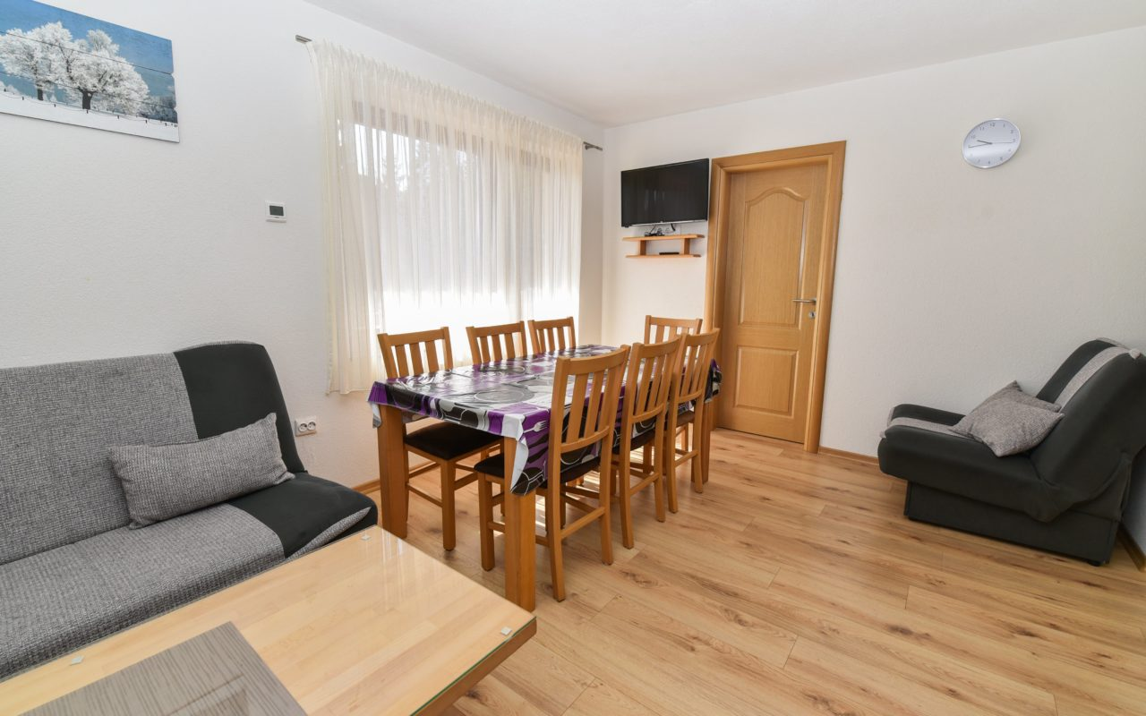 Apartment A2 living room